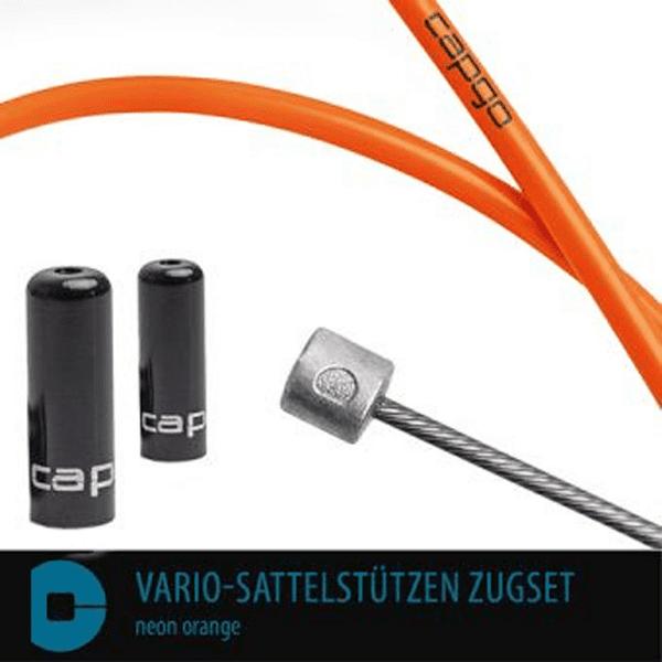 BL Vario-Sattelstützen Zugset - Neon Orange