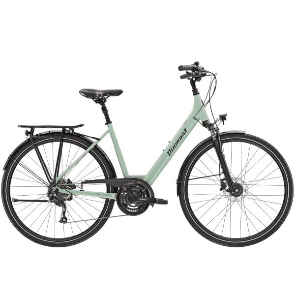 Ubari Deluxe - Frauen Trekkingrad - Moreagrün