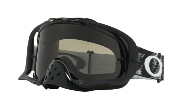 Crowbar MX Sand Goggles - Jet Black - Dark Grey