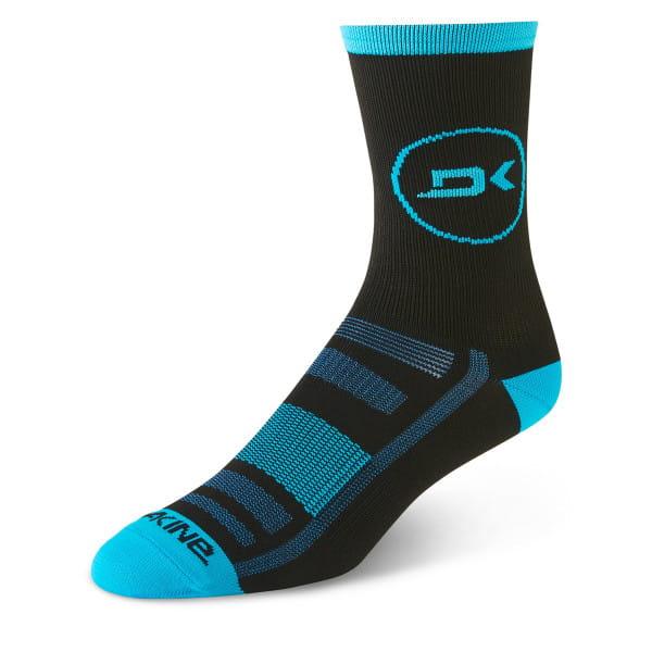 Singletrack Socken - Schwarz/Blau