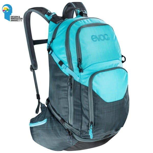 Explorer Pro Rucksack - 30L - heather/neon blue