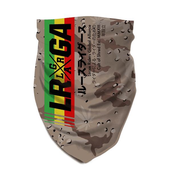 Halstuch - 420 Desert - Beige/Grün/Gelb/Rot