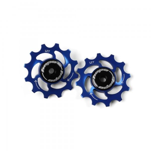 Jockey Wheels Schaltrollen - 12Z - blau
