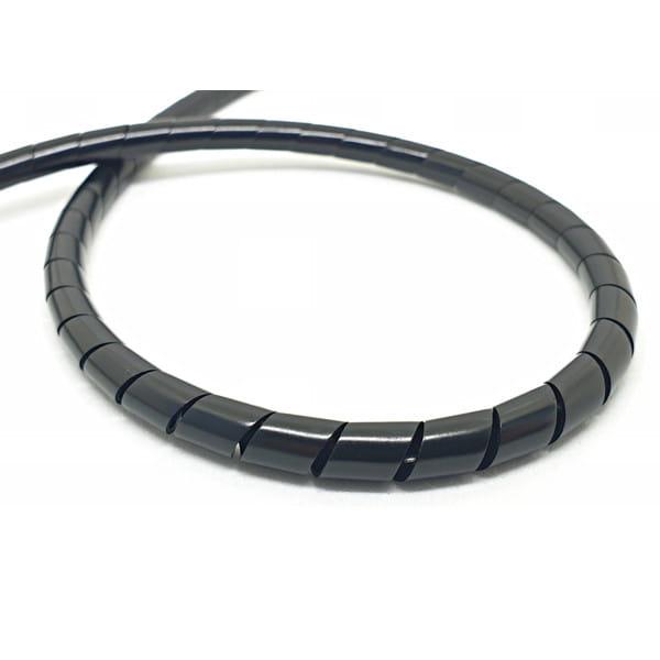 Spiralschlauch für Bremsleitung 2m - Schwarz