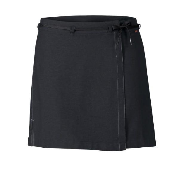 Women Tremalzo Skirt II - Damen Fahrrad-Rock schwarz
