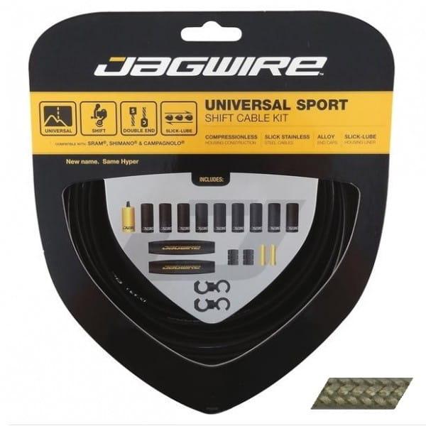 Schaltzugset Universal Sport - carbon/silber