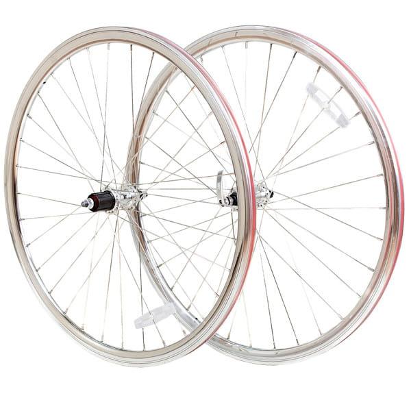 Road Laufradsatz 8-fach - silber