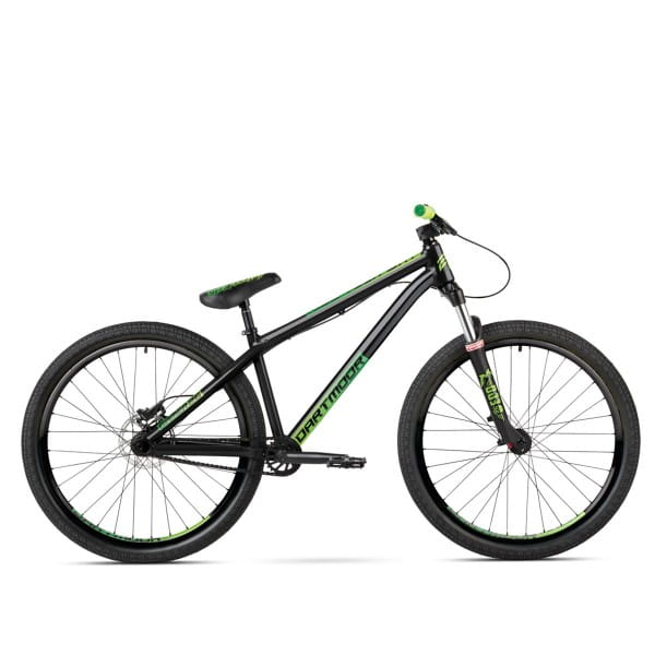 Gamer Dirtbike 26 Zoll - Schwarz/Grün