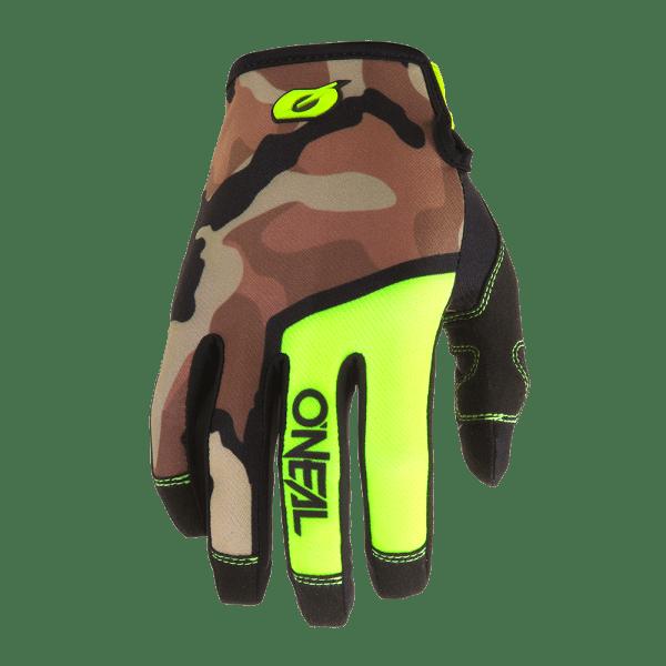 Mayhem Ambush Handschuhe - Neon Gelb/Camo