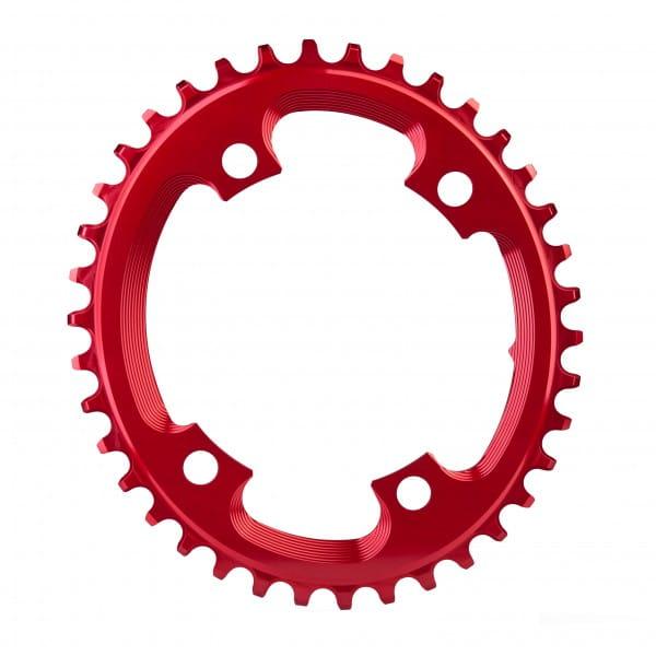 Cyclocross Kettenblatt - Oval - 110 BCD 4-loch - rot