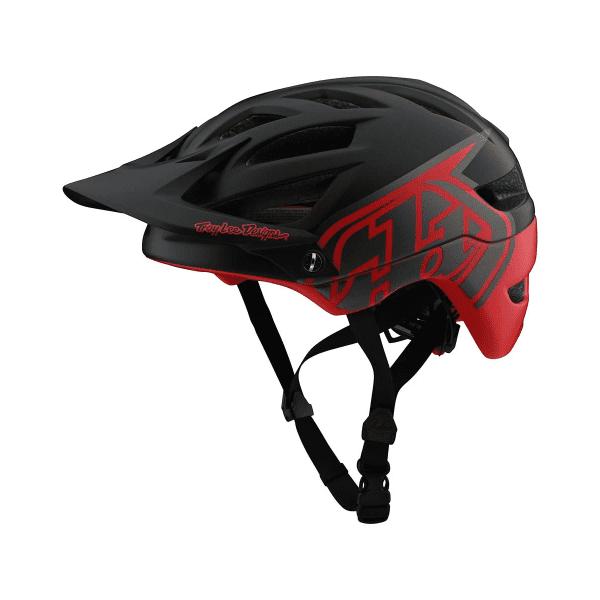 A1 Helmet (MIPS) Classic Helm - Schwarz/Rot