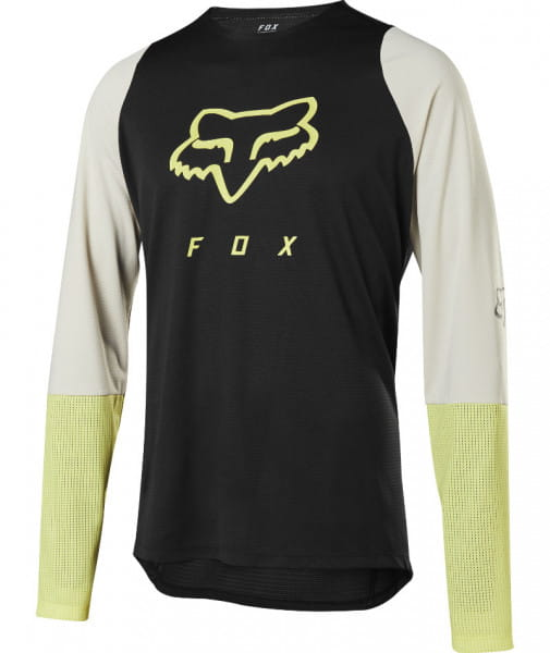 Defend Foxhead Jersey - Trikot schwarz