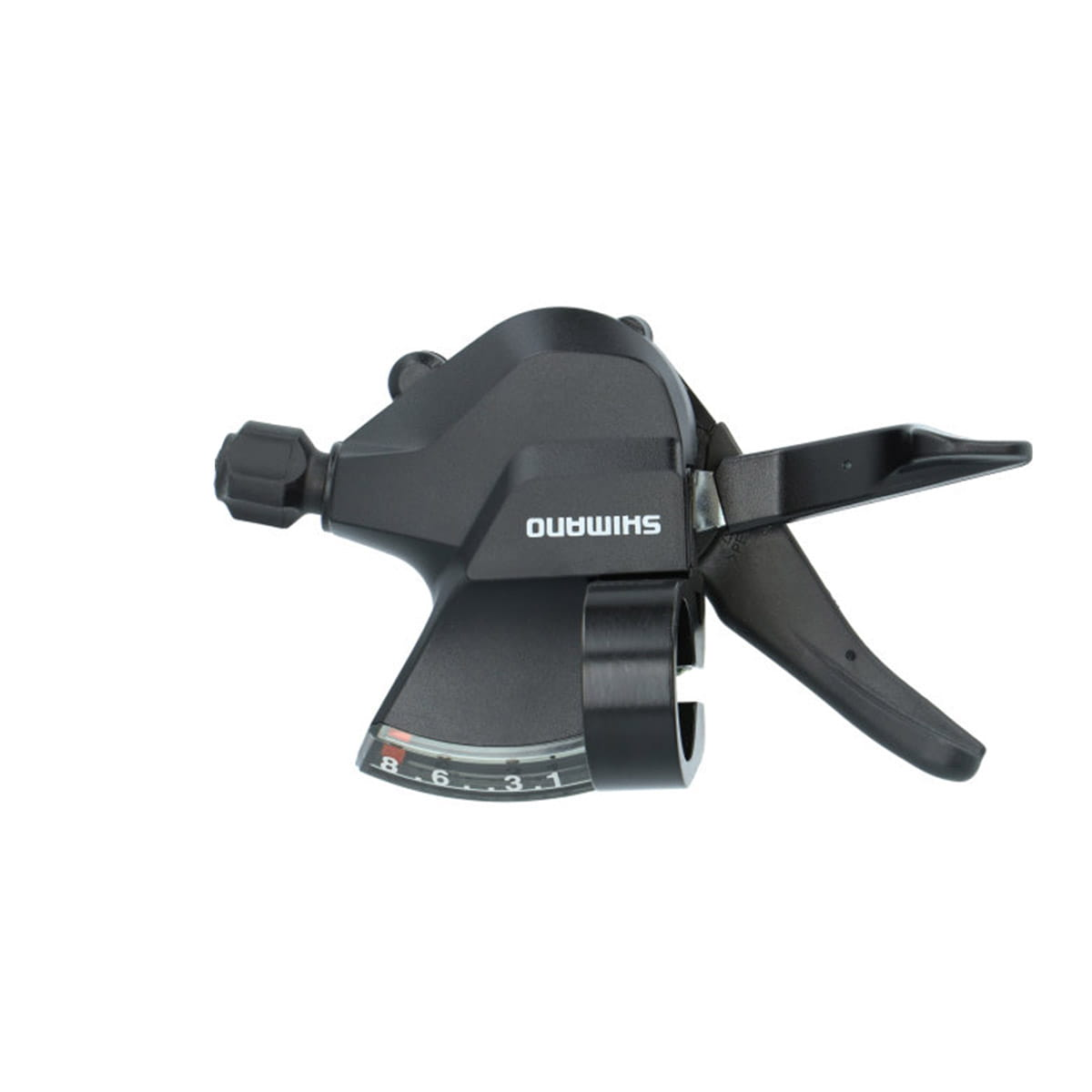 Right SHIMANO SL-M315-8R 8-Speed RapidFire Plus Bicycle Shift Lever with Optical Gear Display ESLM3158RA