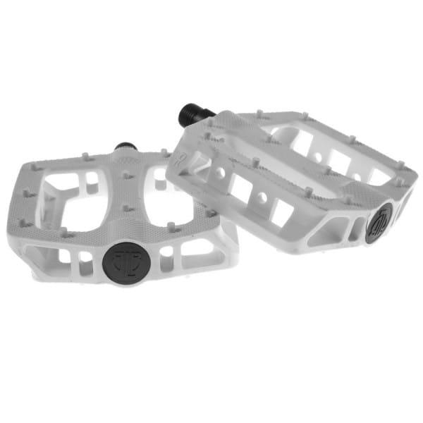 T-Rex Plattform Kunststoff Pedale - weiss