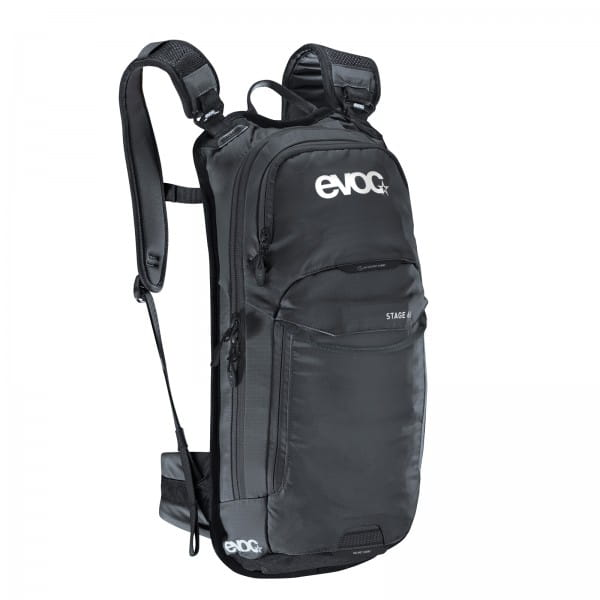 Stage 6L Rucksack + 2L Bladder - Black
