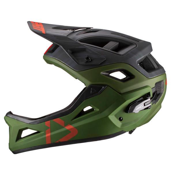 DBX 3.0 Enduro Helm - Grün