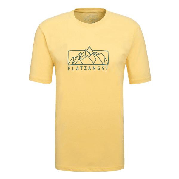 Mountain Logo T-Shirt - Gelb