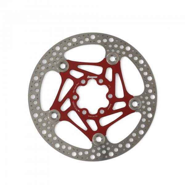 Road Rotor 160mm Bremsscheibe - rot