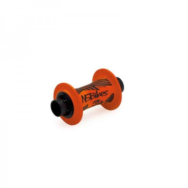 Rotary Vorderradnabe  -  20mm -  32 Loch - fluo orange