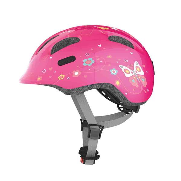 Smiley 2.0 - Kinderhelm Schmetterling pink