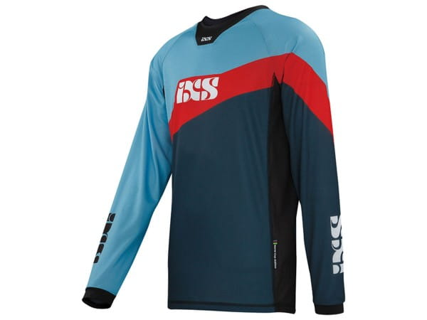 Race 7.1 DH Trikot - Worldcup Edition - Blau/Rot