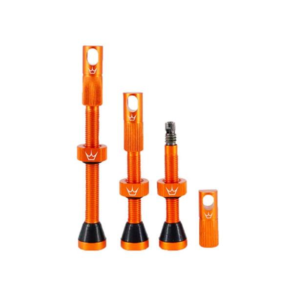 Chris King Tubeless Ventil - Orange