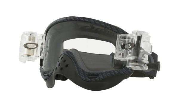 O-Frame MX Goggles - Race Ready True Carbon Fiber incl. Clear Roll Off