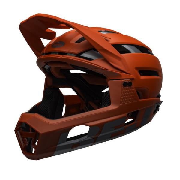 Super Air R Mips Fahrradhelm - Rot/Grau