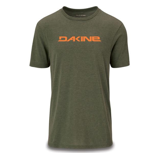 Da Rail - Kurzarm Tech T-Shirt - Olive