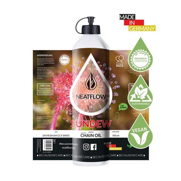 Umweltfreundliches Kettenöl - Sundew - 500ml - Economy Pack