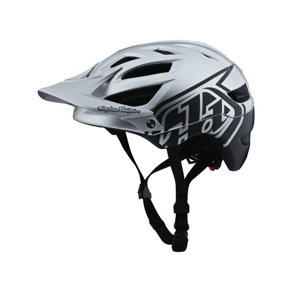 A1 Helmet (MIPS) Classic Helm - Silber/Blau