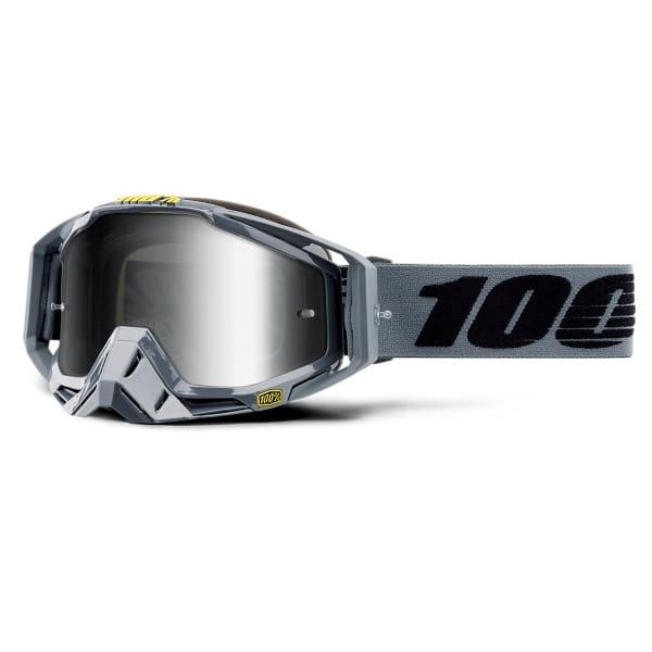Racecraft Goggle Anti Fog Mirror Lens - Nardo