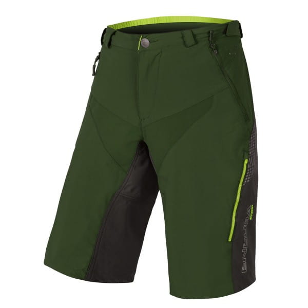 MT500 Spray Baggy Shorts II - Grün