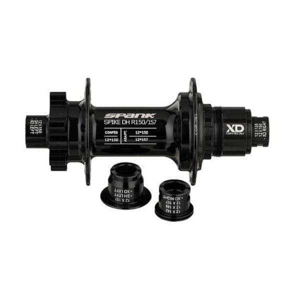 Spike DH R150/157 Hinterrradnabe mit SRAM XD - Schwarz