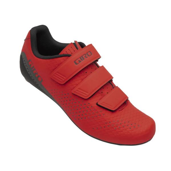STYLUS - Rennrad Schuhe - Bright Red - Rot