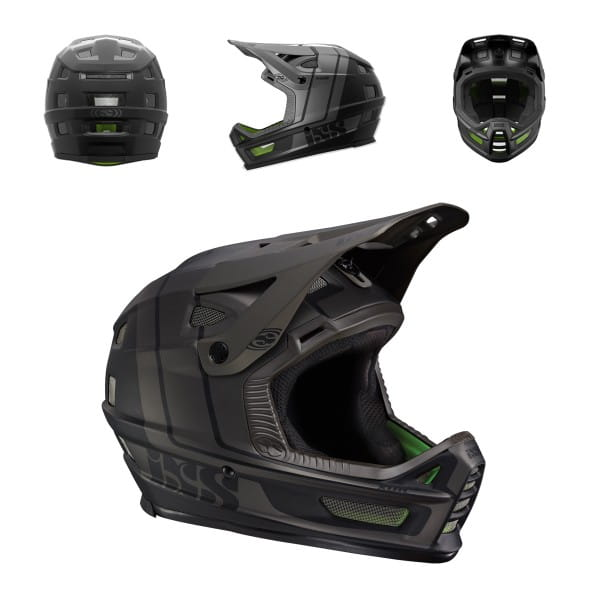 XULT Enduro/DH Helm - schwarz