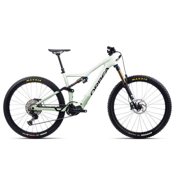 Rise M10 - 29 Zoll Fully E-Bike - Harzweiss/Nebelgrün