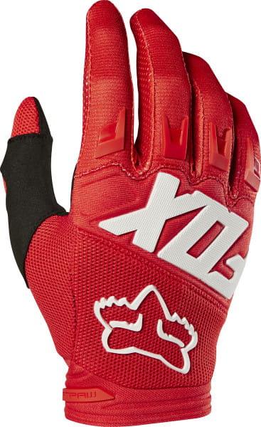 Dirtpaw Handschuhe - Rot