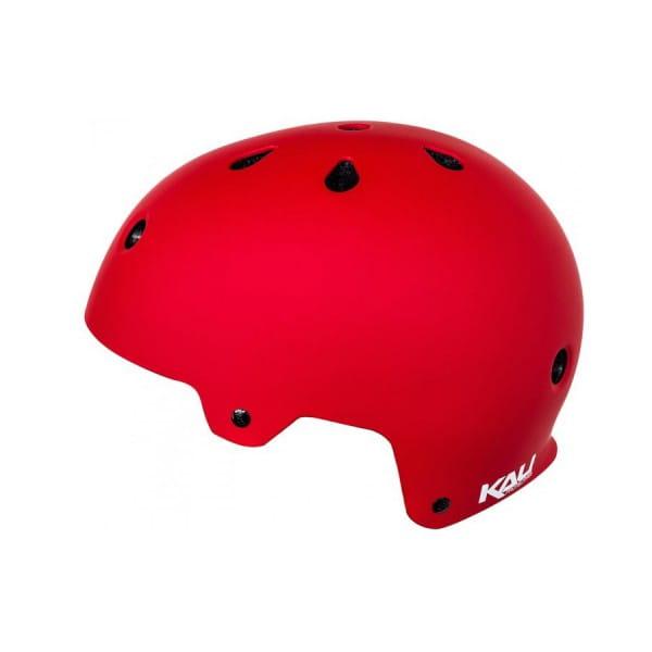 Maha Solid Dirt/BMX Helm - Rot