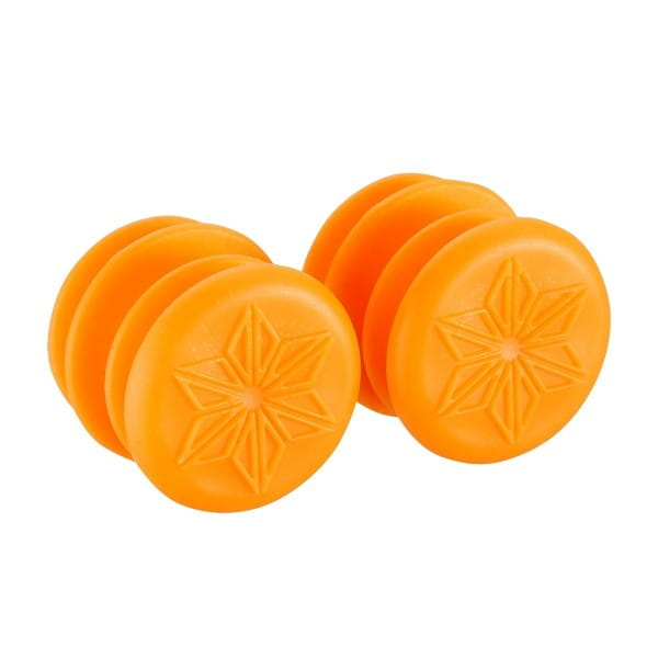 Handlebar End Caps Endz - Neon Orange