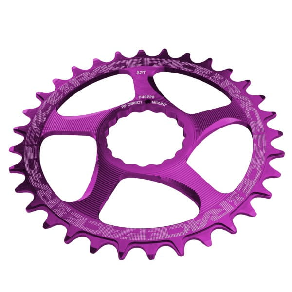 Cinch Direct Mount Narrow-Wide Kettenblatt - purple