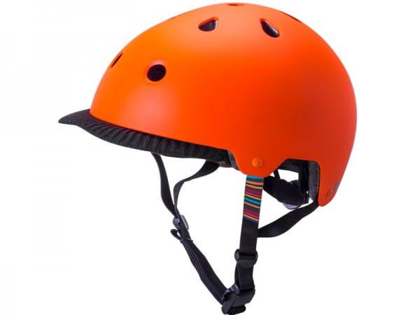 Saha Commuter Dirt/BMX Helm - Orange
