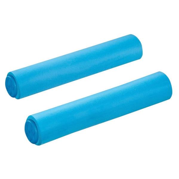 MTB Silikon-Griffe Ø34mm - Neon Blau