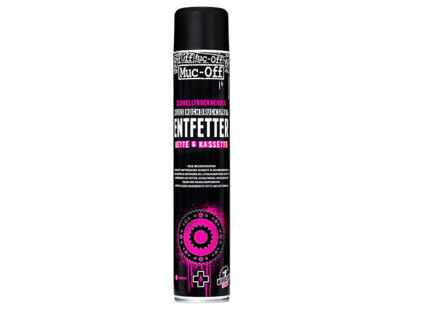 High Pressure Quick Drying De-Greaser - 750 ml
