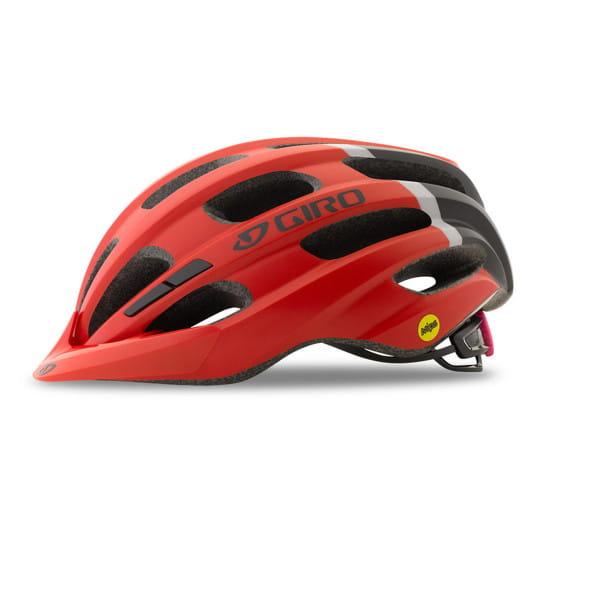 Hale MIPS Helm- Rot Schwarz