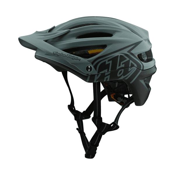 A2 Helmet (Mips) Helm - Blau/Grün