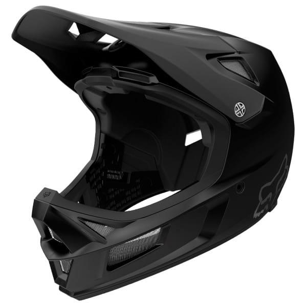 Rampage Comp Helm CE - Schwarz Matt