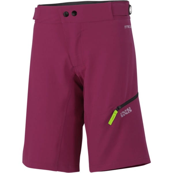Carve Women's Shorts - Eggplant