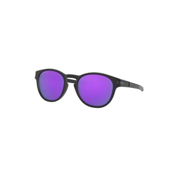 Latch Sonnenbrille - Schwarz - PRIZM Lila