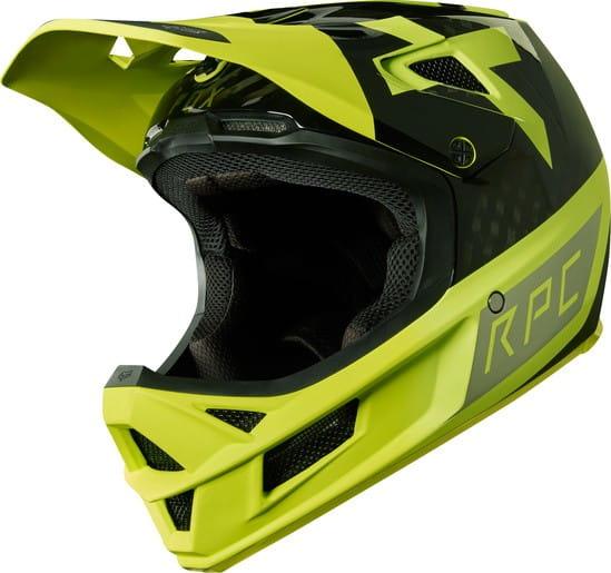 Rampage Pro Carbon Helm – Yellow/Black